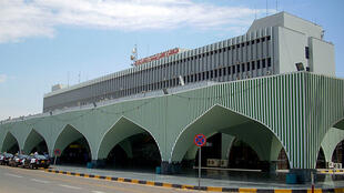 L'aéroport international de Tripoli.