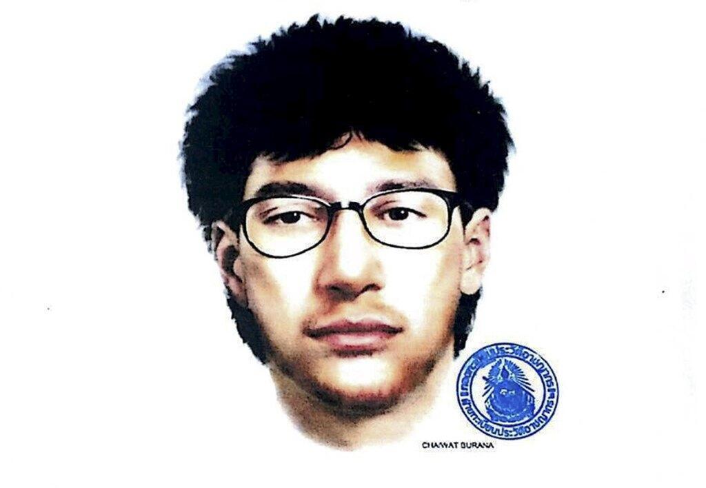 Imágen del sospechoso del atentado, publicada por la Policía Real Tailandesa, el 19 de agosto de 2015.015,