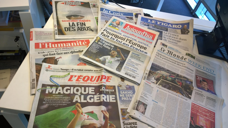 Diários franceses 27/06/2014