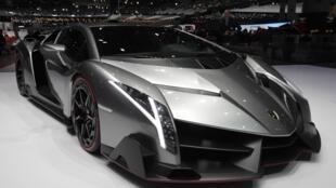 O modelo Veneno, da Lamborghini, promete ser uma das estrelas do Salão do automóvel de Genebra, que vai até 17 de março.
