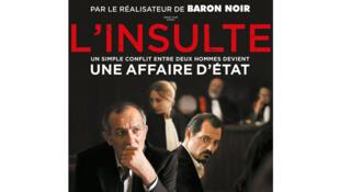 Affiche «L'insulte» de Ziad Doueiri.