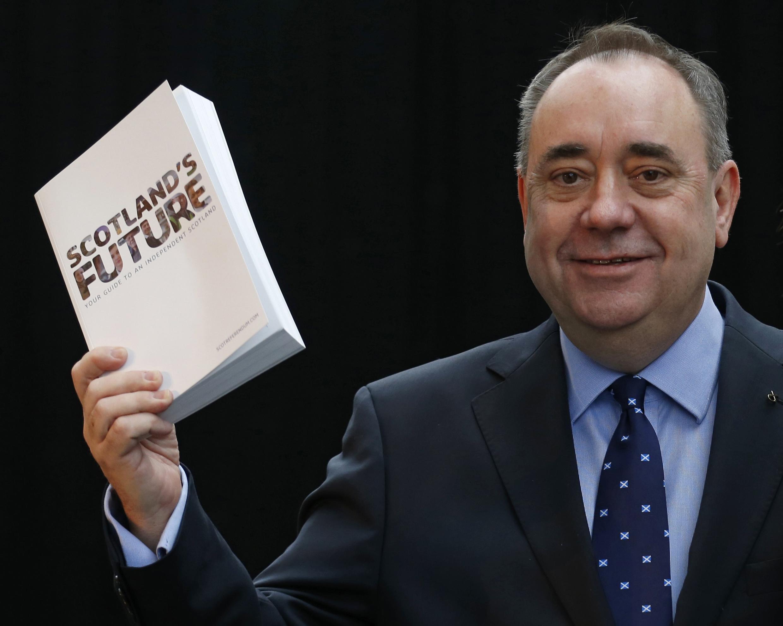 Scotland's First Minister Alex Salmond