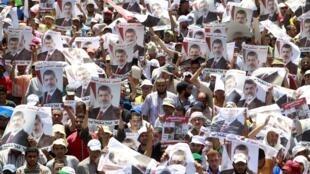 埃及穆兄会支持者7月30日举行大规模抗议示威