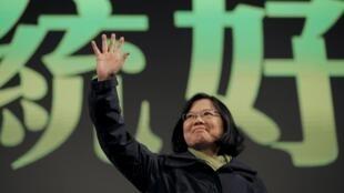 台灣新當選總統蔡英文
