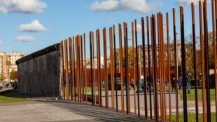 柏林墙变成艺术