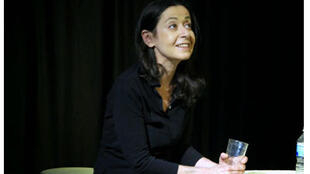 Portrait de la comédienne Laurence Sendrowicz.