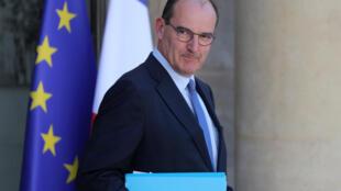 Le Premier ministre français Jean Castex lors de son premier Conseil des ministres, le mercredi 7 juillet 2020.