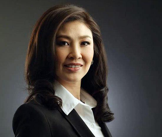 លោកស្រី នាយករដ្ឋមន្រ្តីប្រទេសថៃ Yingluck Shinawatra ។
