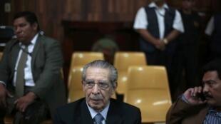 O Tribunal Constitucional (CC) da Guatemala anulou na segunda-feira a sentença de 80 anos de prisão contra o ex-ditador guatemalteco, Efrain Rios Montt.