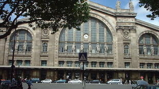 A quiet morning at the Gare du Nord in Paris