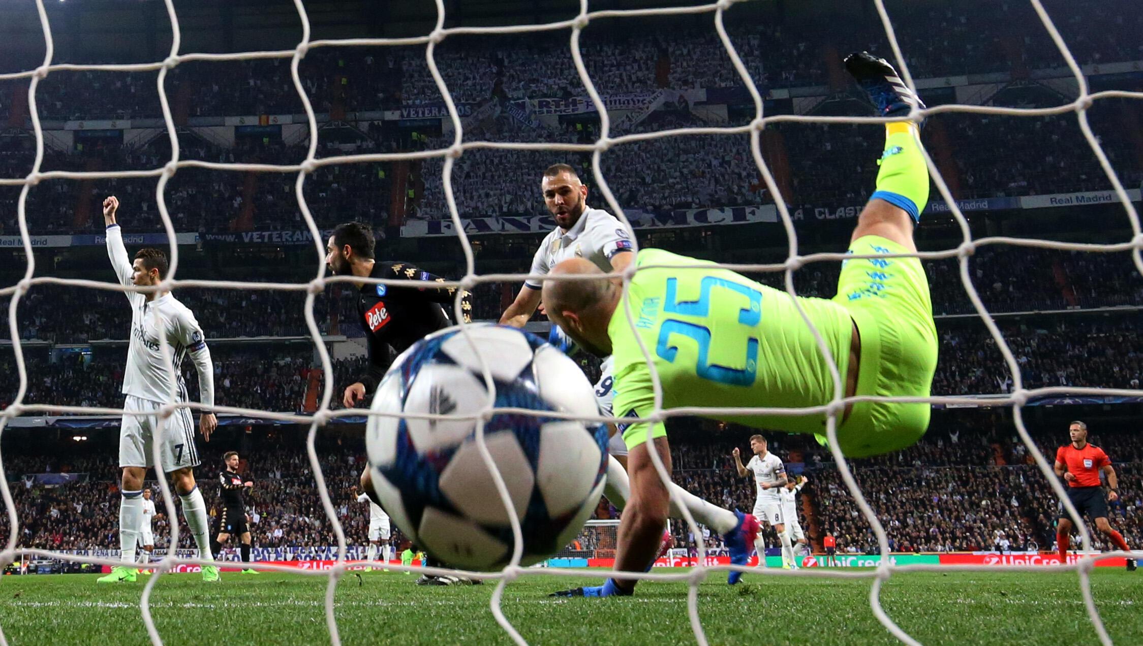Bao la Karim Benzema katika mchuano dhidi ya Napoli. Real Madrid 3-1 Napoli