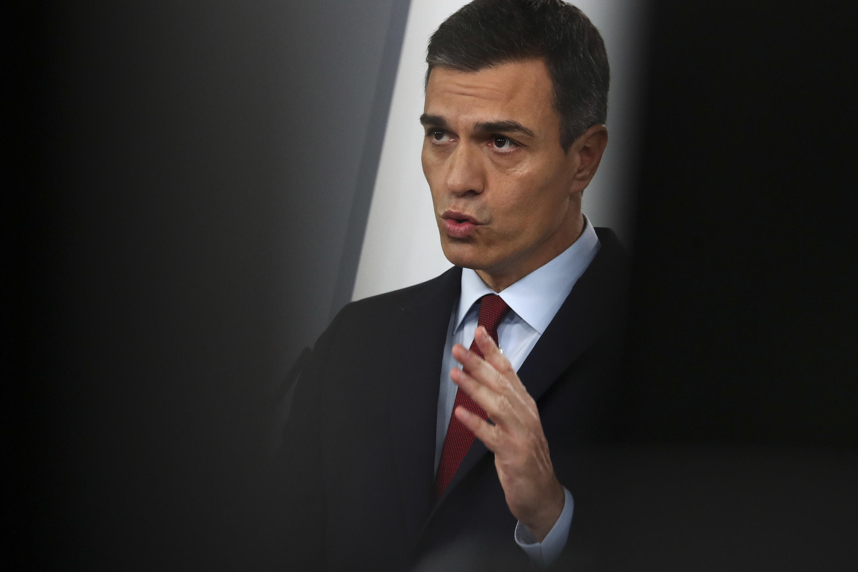 Глава правительства Испании Педро Санчес
