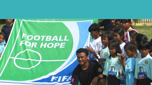 Football for Hope, un proyecto solidario de la FIFA para poblaciones marginalizadas.