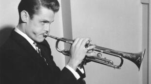 Chet Baker en 1955.