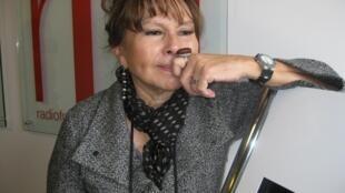 Toty Rodríguez en los locales de RFI.