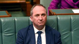 Le vice-Premier ministre Barnaby Joyce, ce lundi 14 août 2017.