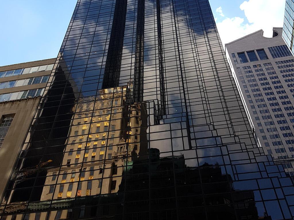 Trump Tower em Nova Iorque.