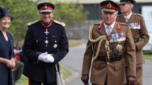 英国国防参谋长尼克·卡特资料图片