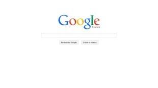 Captura de pantalla del buscador Google Francia