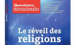 Couverture «Le Réveil des religions» de la revue Questions internationales.