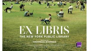 Affiche «Ex Libris», The New York Public Library, de Frederick Wiseman.
