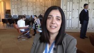 Diane Ala'i, représentante de la communauté internationale Baha'ie aux Nations Unies à Genève