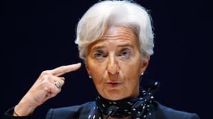 Christine Lagarde, ministra da Economia da França.