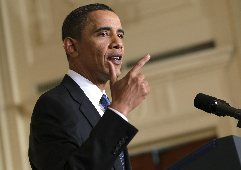 O presidente americano Barack Obama deu uma coletiva na quinta-feira para defender a gestão de sua administração nessa maré negra.