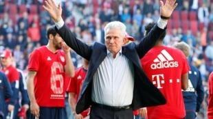 Mai horar da kungiyar Bayern Munich  Jupp Heynckes.