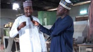 Engr. Nasir Mu'azu Abubakar tare da Bashir Ibrahim Idris