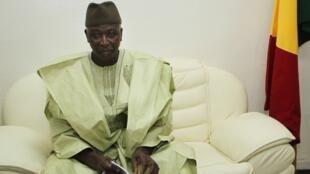 Le président de transition malien, Bah N'Daw, lorsqu'il était ministre de la Défense, le 28 mai 2014.