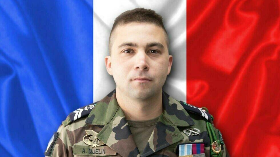 Adrien Quélin died following a maintenance accident on October 12 in northern Mali.