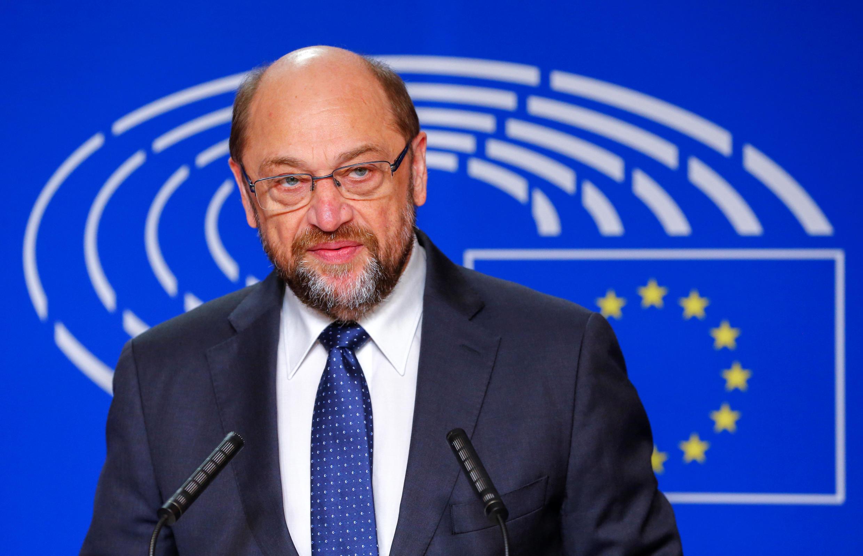 Martin Schulz, Rais wa Bunge la Ulaya, Novemba 24, 2016 mjini Brussels.