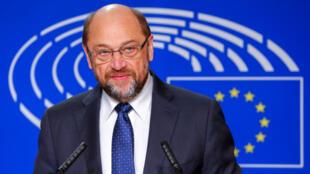 Martin Schulz, le 24 novembre 2016 à Bruxelles.