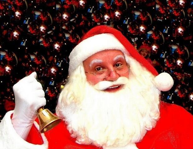 Silvio Ribeiro é Papai Noel profissional há 52 anos.