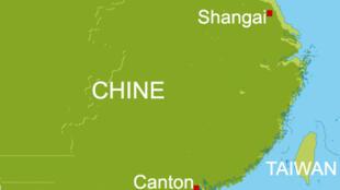 La Chine et Taiwan.