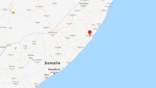 L'armée américaine a annoncé avoir conduit une frappe contre les shebabs,  dans la région d'Harardhere à plusieurs centaines de kilomètres au nord de la capitale Mogadiscio, le 12 octobre 2018.