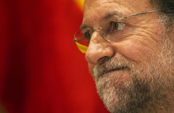 O premiê espanhol Mariano Rajoy.