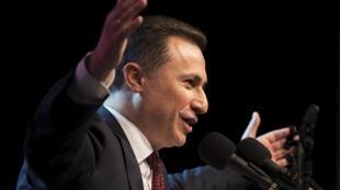 Nikola Gruevski est accusé de financement illégal de son parti et d'avoir truqué un appel d'offres pour la construction de deux autoroutes, l'ancien Premier ministre est sur la sellette.