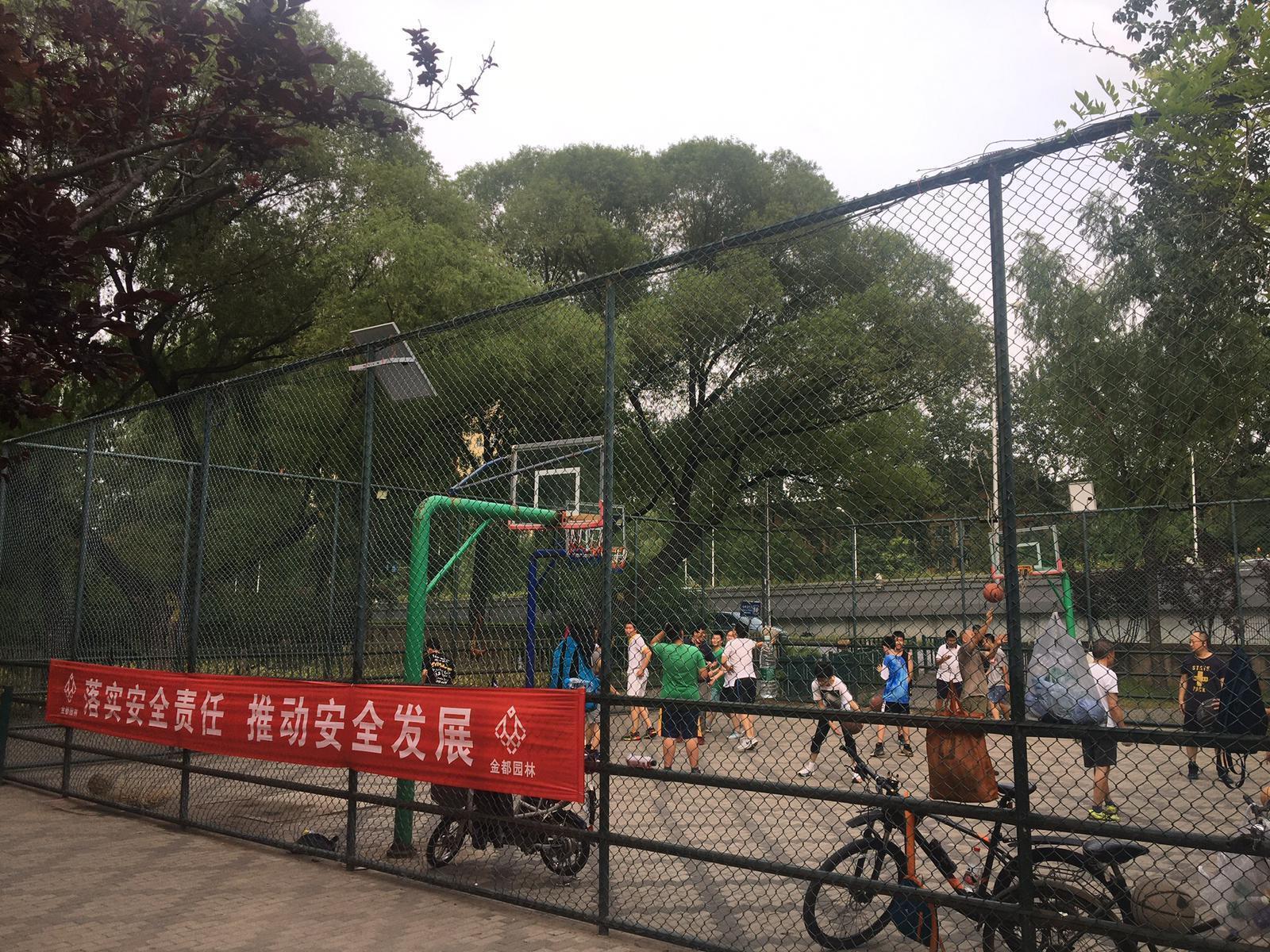 Photo épisode 1 Pékin (serie basket)