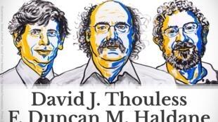 Los ganadores del Nobel de Física.