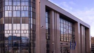 As reuniões do Conselho Europeu realizam-se no edifício Justus Lipsius, em Bruxelas, nesta quinta-feira.