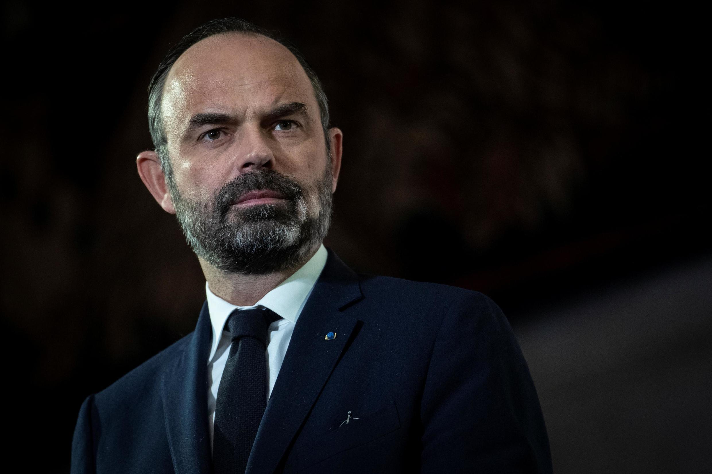 French prime minister Edouard Philippe says the government will carry on with its plans to reform the pensions system.