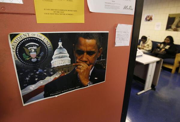 Một trung tâm tìm kiếm việc làm ở Baltimore, tỷ lệ thất nghiệp nơi thanh niên dưới 25 tuổi hện lên đến 15% (© Reuters)
