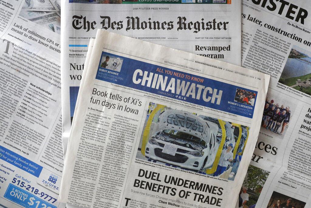 Chine - presse - propagande