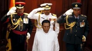 Shugaban Sri Lanka Maithripala Sirisena