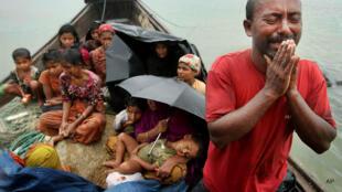 Sắc dân thiểu số Hồi giáo Rohingya ở Miến Điện. Ảnh minh họa.