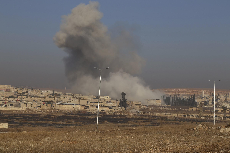 Алепо, Сирия, 21 декабря 2013 года