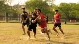 "Delhi ""Hurricanes"" in action"