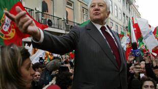 Mário Soares. 19/01/2006